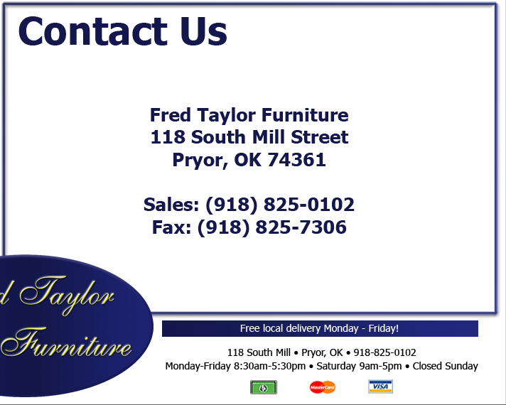 Genial Fred Taylor Furniture   Contact Us.
